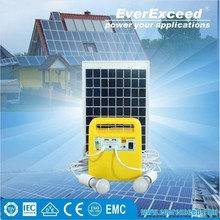 EverExceed 10w portable Solar Home System with built-in Radio