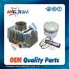 Motorcycle Cylinder kit for Kawasaki 125cc Engine High Quality Motorcycle Parts Motorcycle Engine Parts Block 57mm diameter
