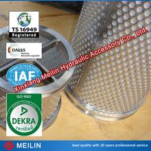 Gas Turbine Air Cartridge Filter With Sintered Metal Mesh