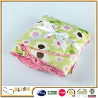 alibaba china supplier Famous Brand newborn baby blanket super warm sherpa blanket