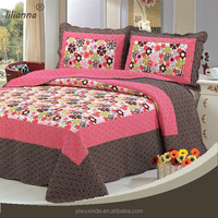 China supplier embroidered hotel grade bed linen set