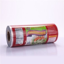 High Quality CMYK printing Fresh frozen food Packing Films
