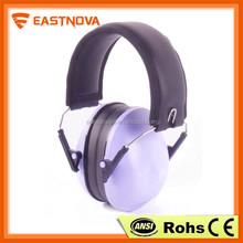 Factory direct wholesale Eco-friendly portable purple earmuffs