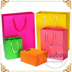 Factory sale custom wholesale small gift bags with high quality
