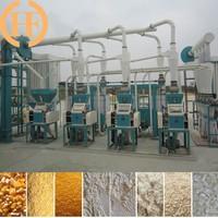Turn-key Project Corn Flour Mill 50 ton Machine