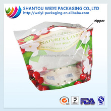 Ziplock clear cherry tomato packaging plastic bag