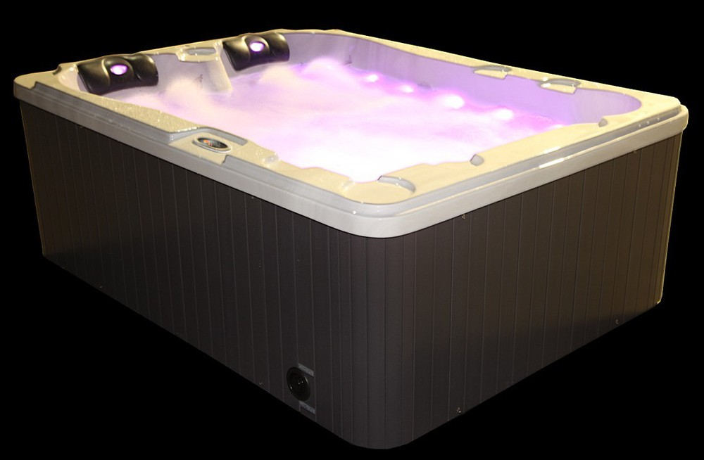Monalisa 3 people outdoor whilpool massage spa hot tub