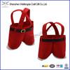 Hot Sale Fashion Design Candy Velvet Christmas Gift Bag