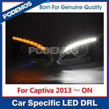 For Chevrolet Captiva led daytime running light led drl led daylight drl lights with turn signal IP68