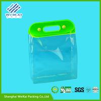 beautiful underwear bag, clear clothes travel storage bag, plastic garment case SHWK3005