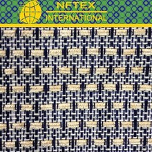 Popular high quality new check mats fabric contain chenille