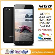 MTK6582 Quad Core 3G 5MP China Android Dual SIM phone smartphone projector