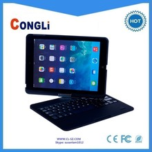 360 swivel bluetooth keyboard for iPAD Air, with perfect protector case