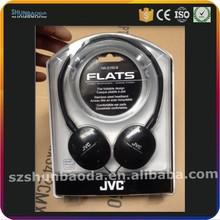 electronic product slide plastic blister packaging for sport earphone