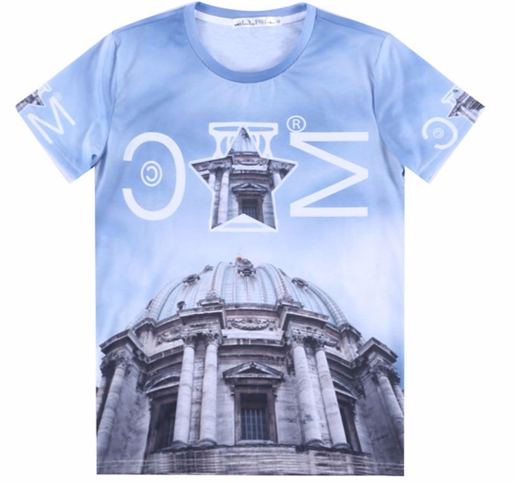 sublimation t shirt (158