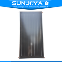 Aluminium Absorber All-in-one Flat Panel Solar Water Collector