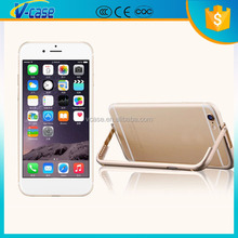High Quality new design Aluminum metal material bumper bling Cell Phone Case for iphone 6