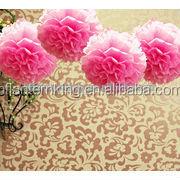 Pink Passion Tissue Paper Pom Pom