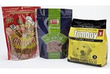gravure printing plastic food grade bag poly bag for pet food
