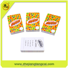 poker size memory gift cards printing
