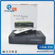 2015 alibaba hot selling Digital tv satellite receiver ilink 210 FTA hd receiver in large stock