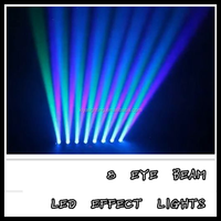 China 8 eye beam light effect light cheap moving head led light stage curtain