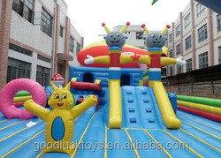 juegos inflables china/ tree inflatable combo /inflatable castle