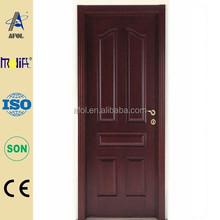 Zhejiang AFOL mahogany interior and external 100% solid wood door