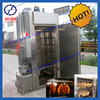 2014 China Hot Selling High Efficiency Meat Smoker Energy Saving Meat Smoking Machine