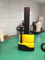 Single mast electric stacker powered stacker battery pallet stacker lifters with low price