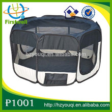 8 Panels Portable and Folding Pet Dog Fabric Playpen Crate Fence