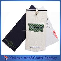cheap custom matt finish price swing hang tags