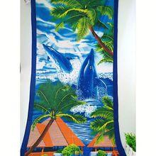 microfiber beach towels printed, oem printed beach towel, 100%polyester colorful printing microfiber towel