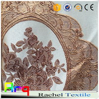 classic design luxury european style window traditional curtain by china textile manufactures