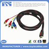 1.5m/5ft HDMI Male to 5 RCA RGB Audio Video AV Component Cable with Nylon