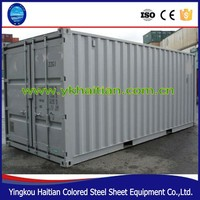 Cheap modern prefab house with sandwich panel best price, used container for sale