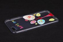 custom clear pc tpu case for iphone 6