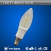 Patent design China Alibaba replace halogen lamp 20w led filament light c35