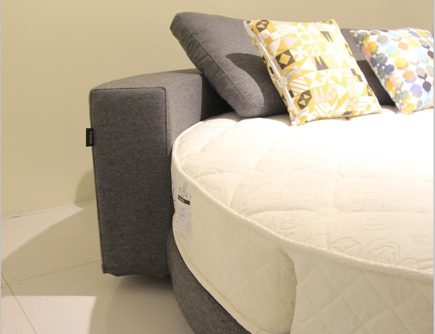 2015 뜨거운 판매 현대적인 디자인 편안한 원형 침대 킹 사이즈 ...