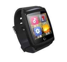 Android 4.4 System GPS WiFi Android Smart Silicone Watch