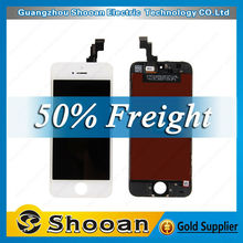 wholesale foxconn for iphone 5s back cover assembly,for iphone 5s colorful lcd digitizer