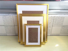 free sample aluminum gold photo frames factory price