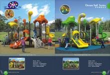 kinderagarten daycare furniture 04101 Popular Kids Outdoor dream sail series Plastic Playground Equipment
