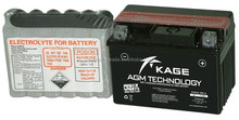 KGX4L-BS A 12V 4.3Ah Lead acid low maintenannce free YTX dry charged scooter motorcycle battery high capacity battery