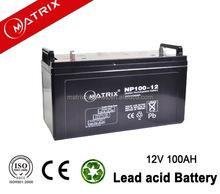 12v 100ah lead acid battery for solar system