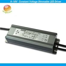 150w 12v pwm led driver waterproof 0-10V pwm compatible led dimming driver 150W 12V PF>0.98 EFF>88%