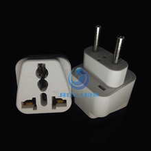 Europe plug travel electric adapter, travel universal adapter with safety shutter all in one socket CE ROHS