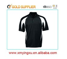 men branded collar polyester dry fit running polo t-shirt