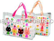 2015 hotest style laminated tote bags with handle