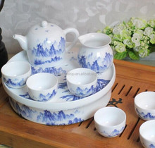 tea ware set Chinese grace porcelain tea ware tea set made in China